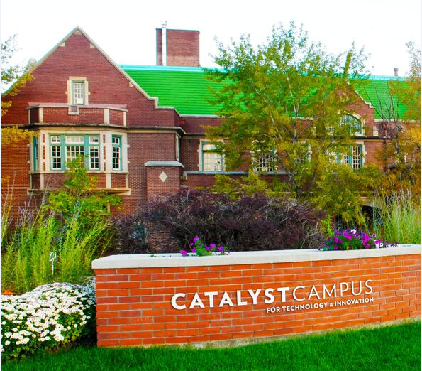 The Catalyst Campus administrative building located in Colorado Springs, CO.